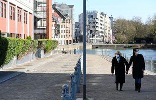 Au deuxième jour de confinement, à Lille, le 18 mars 2020.