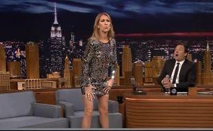 Céline Dion twerke dans le Tonight Show de Jimmy Fallon