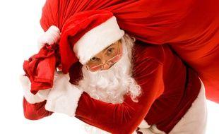 Le père Noël surcharge nos placards.