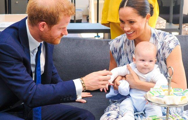 Le prince Harry et Meghan Markle publient une nouvelle photo d'Archie pour le Nouvel An