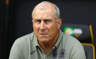 Alain Casanova, l'entraîneur du TFC, lors du match de présaison à Norwich, en Angleterre, le 3 août 2019.