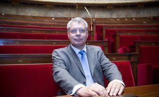 Le 19 mai 2012. Arrivee des nouveaux deputes a l'assemblee naationale. Ici, Philippe Doucet. /// V. WARTNER / 20 MINUTES