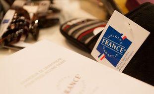 Illustration: un logo origine France garantie.