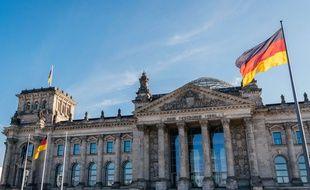 Le palais du Reichstag, à Berlin