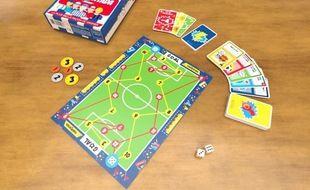 Remontada est un jeu de plateau sur le foot qui se joue à un contre un