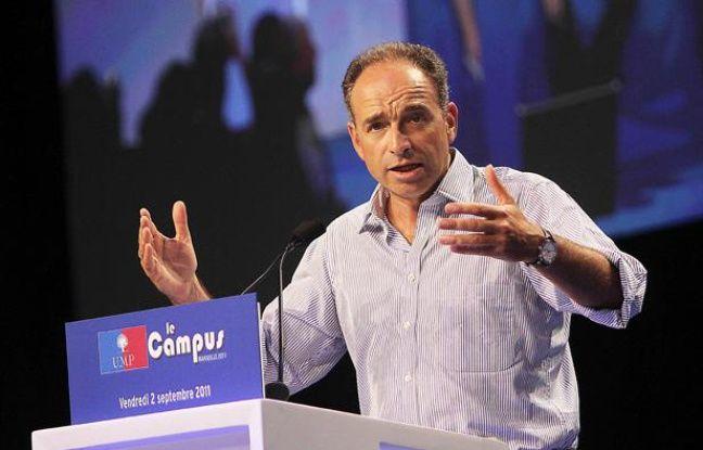 Jean-François Copé à Marseille, lors de l'université d'été de l'UMP, le 2 septembre 2011.