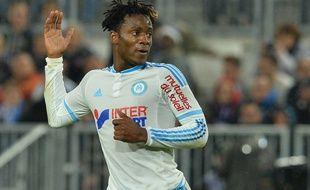 L'attaquant de l'OM Michy Batshuayi, en décembre 2015, à Bordeaux.