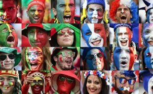 Qu'ils soient français ou portugais, pour les supporteurs c'est le grand jour...