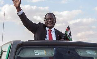 Le nouveau président du Malawi, Lazarus Chakwera, le 20 juin 2020 à Mtandire.