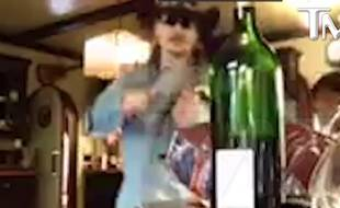 Johnny Depp, capture vidéo TMZ
