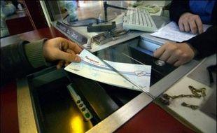 Vente d'un billet dans une agence SNCF