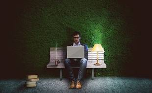 (Illustration) Un homme qui travaillait de nuit.
