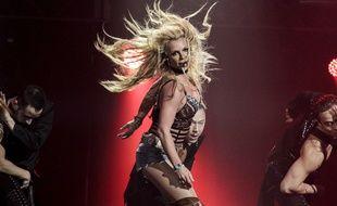 Britney Spears en concert.
