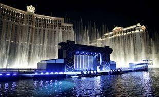 L'hôtel-casino Bellagio de Las Vegas le 15 août 2015.