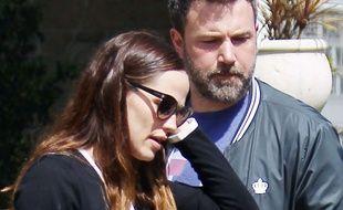 Les acteurs Ben Affleck et Jennifer Garner à Los Angeles.