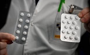 Des médicaments à base de chloroquine et d'hydroxychloroquine, à Marseille.