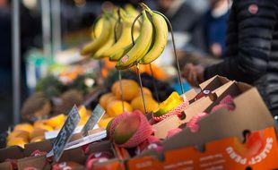 Bananes et mangues sont la matière première utilisée par Vegskin.
