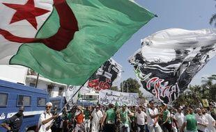 Manifestation contre le gouvernement à Alger, le 30 août 2019.