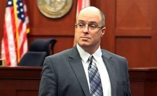 Matthew Apperson, ici en Floride le 16 septembre 2016, a été condamné à 20 ans de prison pour tentative de meurtre sur George Zimmerman.