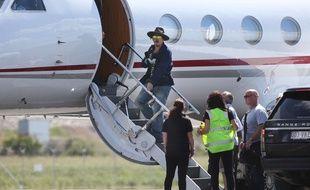 Johnny Depp quitte l'Australie, la main bandée