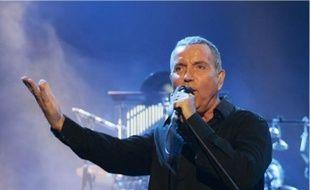 Le chanteur Bernard Lavilliers.