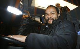 Dieudonné lors d'un passage dans le Nord en 2009
