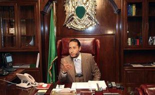 L'un des fils de Mouammar Kadhafi, Saadi, le 31 janvier 2010 à Tripoli (Libye).