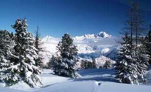 illustration de La Plagne, en Savoie.