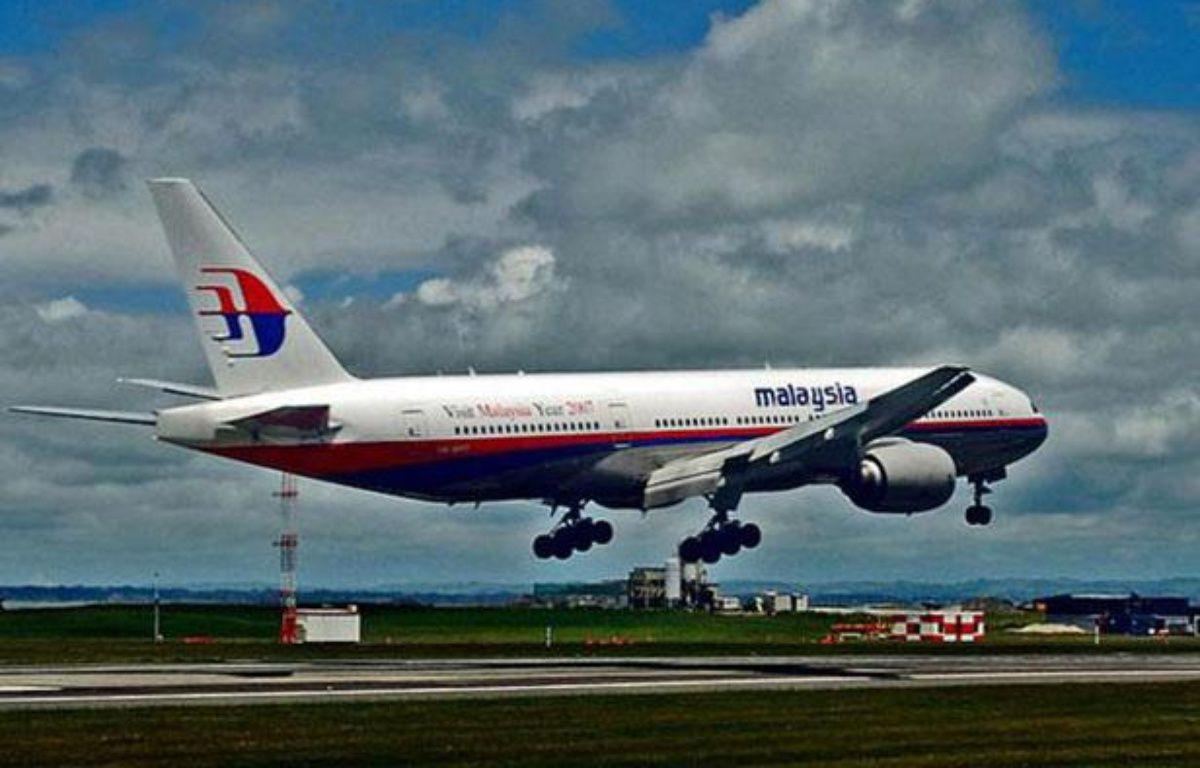 Un avion de la compagnie Malaysia Airlines. Illustration. –  XinHua/SIPA