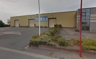 L'usine Tim, à Quaëdypre.