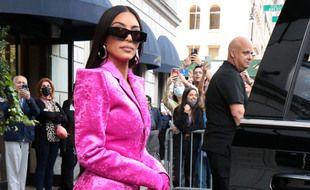 La star de la téléréalité Kim Kardashian