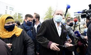Déplacement de campagne d'Eric Dupond-Moretti à Lens ce samedi.