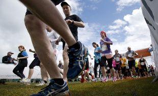 Le 3 mai 2015 les participants de la Wings For Life World Run s'élançaient tout autour du globe, ici en Irlande.
