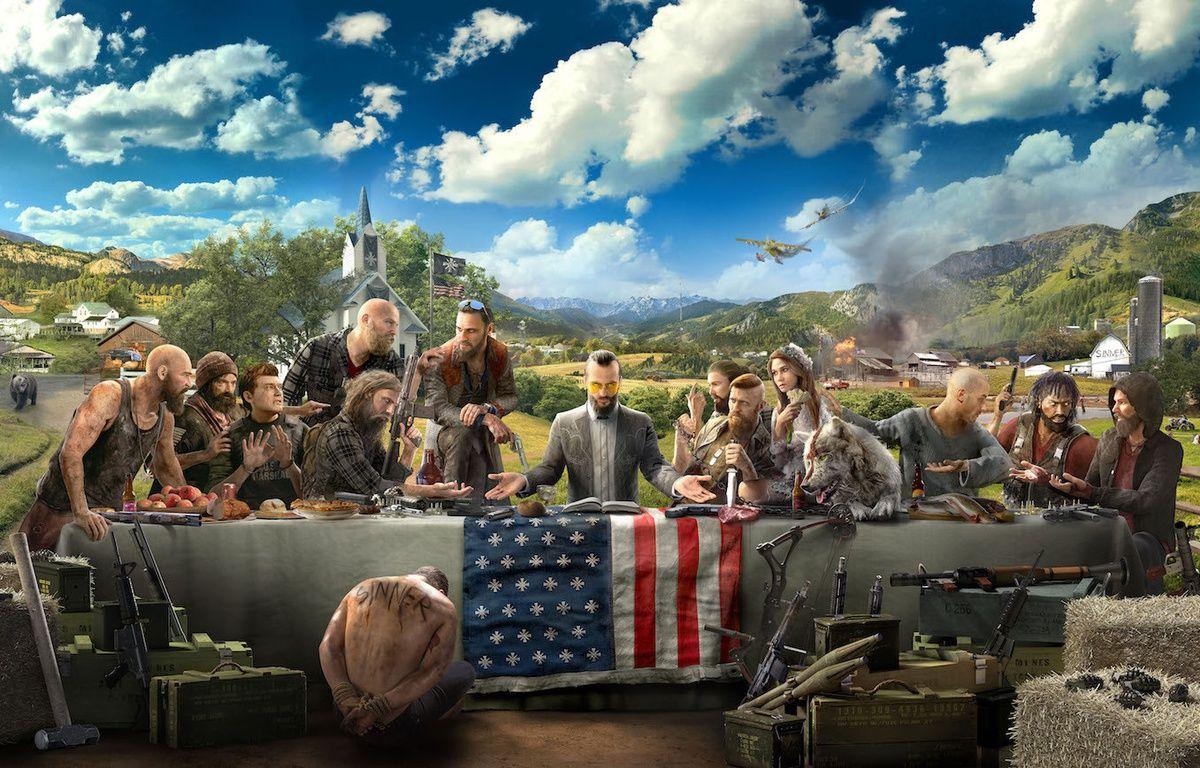 Un artwork de «Far Cry 5», prévu pour le 27 février 2018. – UBISOFT