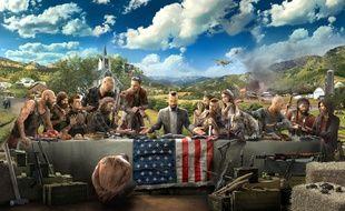 Un artwork de «Far Cry 5», prévu pour le 27 février 2018.