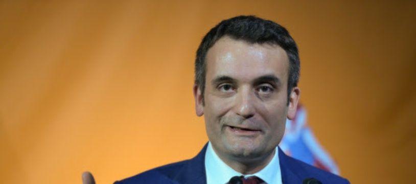 Florian Philippot est le président du parti Les Patriotes. (archive)
