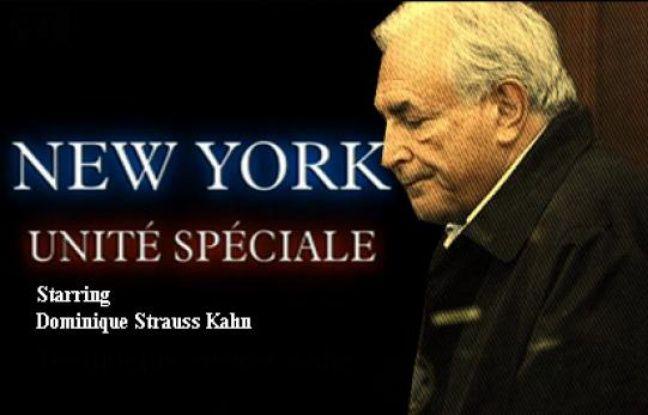 Capture d'écran de la vidéo «DSK dans un épisode de New York unité spéciale».