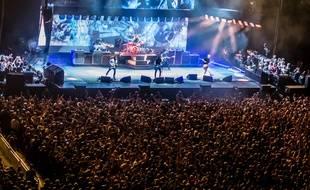 Vue d'ensemble du concert des Foo Fighters à l'O2 Arena de Londres mardi dernier