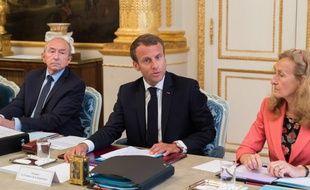 Emmanuel Macron a reçu le gouvernement remanié ce mercredi.