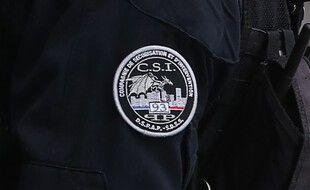 Illustration: Le logo de a compagnie de sécurisation et d'intervention départementale de Seine-Saint-Denis (CSI 93).