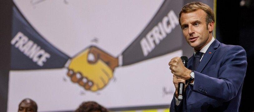 Emmanuel Macron au sommet Afrique-France