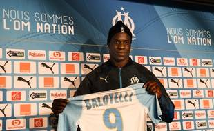 Mario Balotelli est satisfait d'avoir enfin signé à l'OM.
