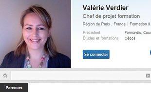 Le CV de Valérie