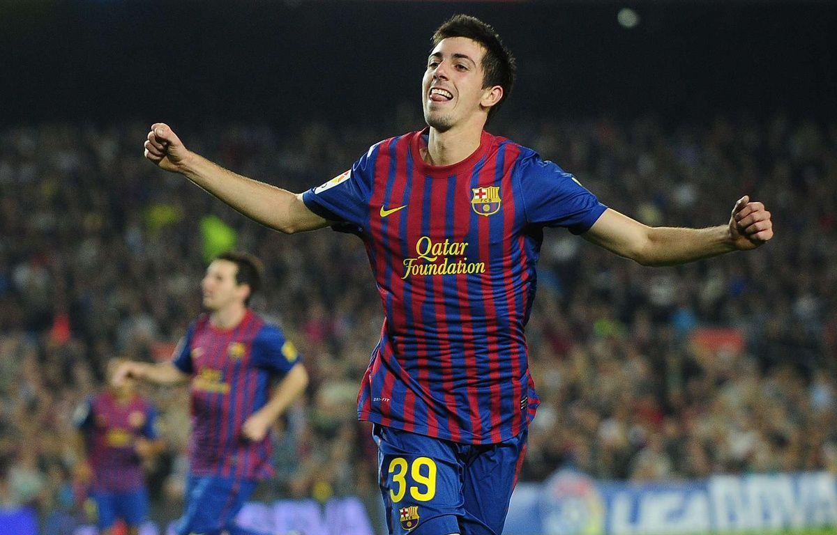 Le footballeur espagnol Isaac Cuenca. – MANU FERNANDEZ/AP/SIPA