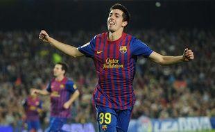 Le footballeur espagnol Isaac Cuenca.