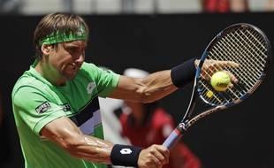 David Ferrer, le 1er juin 2017 à Roland-Garros.