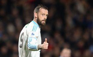 Steven Fletcher a marqué et a délivré une passe décisive lors du match de l'OM à Bordeaux face à Trélissac, le 11 février 2016.