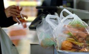Les sacs plastiques fins sont interdits à la distribution depuis juillet 2016.