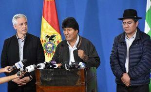 Evo Morales, président bolivien, a annoncé la convocation de nouvelles élections après le scrutin contesté du 20 octobre.