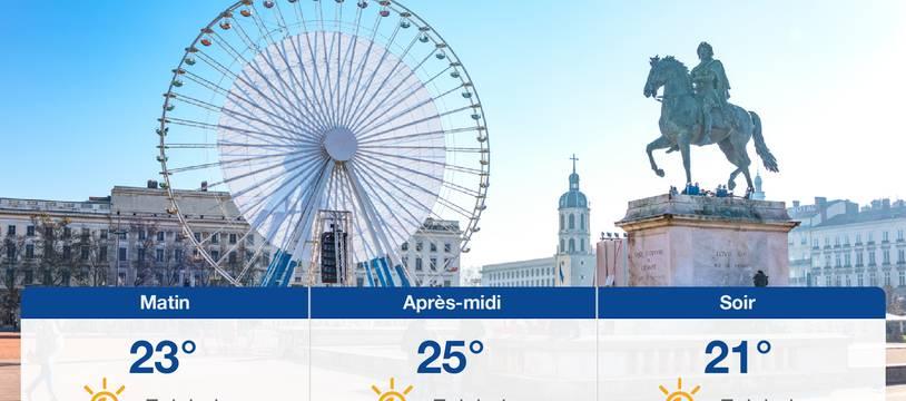 Météo Lyon: Prévisions du dimanche 25 juillet 2021